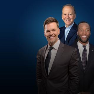 Let's Go w/ Tom Brady, Larry Fitzgerald & Jim Gray