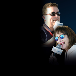 SiriusXM NASCAR Radio Post-Race Show with Claire B. Lang and Brad Gillie